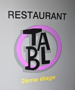 Auch Restaurnt-Tablo libre-de-droits-7